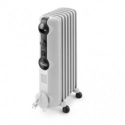 Radiateur bain d'huile DELONGHI 7 Eléments TRRS0715 Blanc