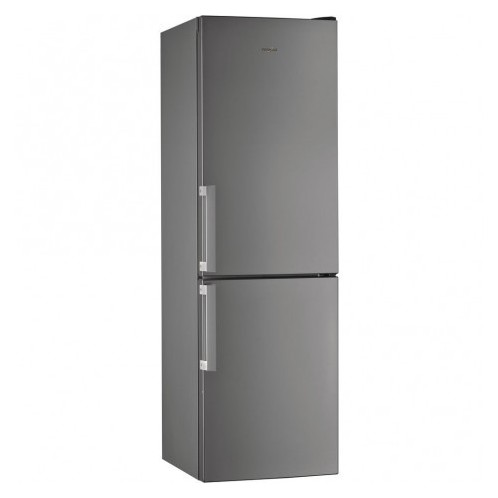 Réfrigérateur combiné WHIRPOOL 360 Litres Less Frost Inox