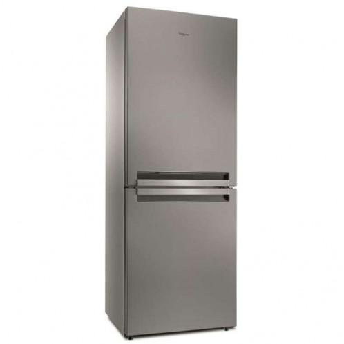 Réfrigérateur combiné WHIRPOOL 6ème sens 490 Litres Inox