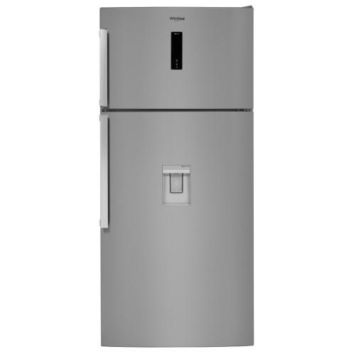 Réfrigérateur Posable combiné WHIRLPOOL No Frost 574 Litres Inox