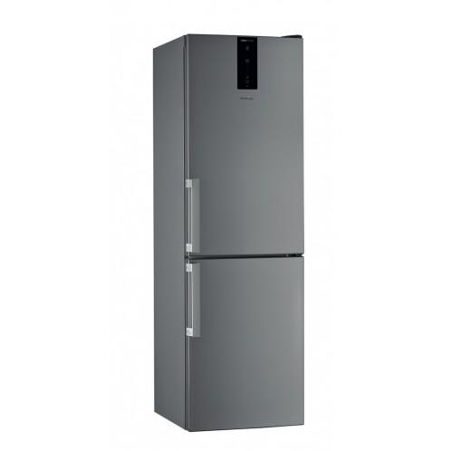 Réfrigérateur combiné WHIRPOOL 6ème sens 360 Litres Inox