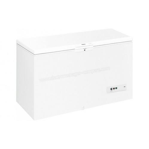 Congélateur horizontale WHIRPOOL 580L Blanc