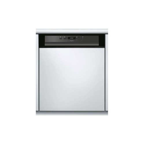 Lave vaisselle semi encastrable WHIRPOOL 14 Couverts Inox