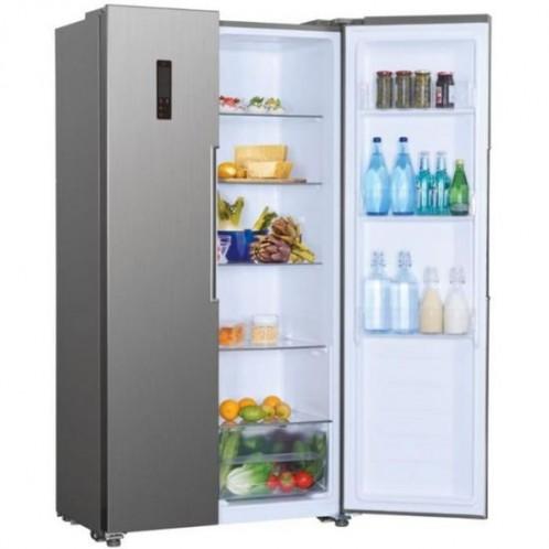 Réfrigérateur Side By Side CANDY 436L Inox