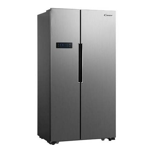 Réfrigérateur Side By Side CANDY 521L Inox